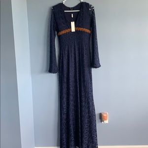 Never worn with tags Sky maxi dress